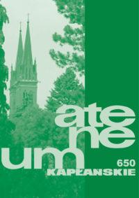 Zeszyt 1 (650) – tom 169 – Budując projekt ekologii chrześcijańskiej w duchu encykliki Laudato si'