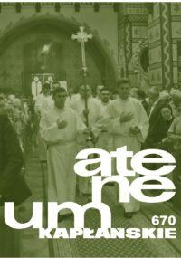 Zeszyt 3 (670) – tom 175 – Religia i wiara II (Zagadnienia szczegółowe)