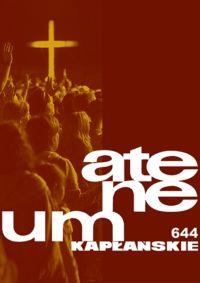 Zeszyt 1 (644) – Tom 167 – MŁODZIEŻ W KOŚCIELE
